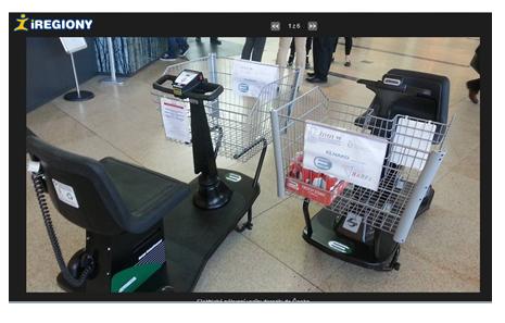 Elektrické nákupní košíky na rádiu Impuls